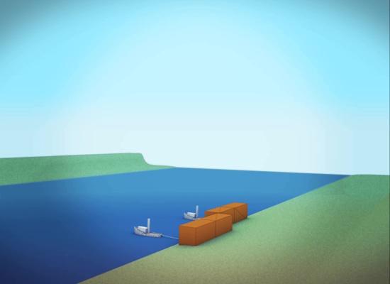 Québec-Brücke (zweite Brücke) – simulation, animation – eduMedia